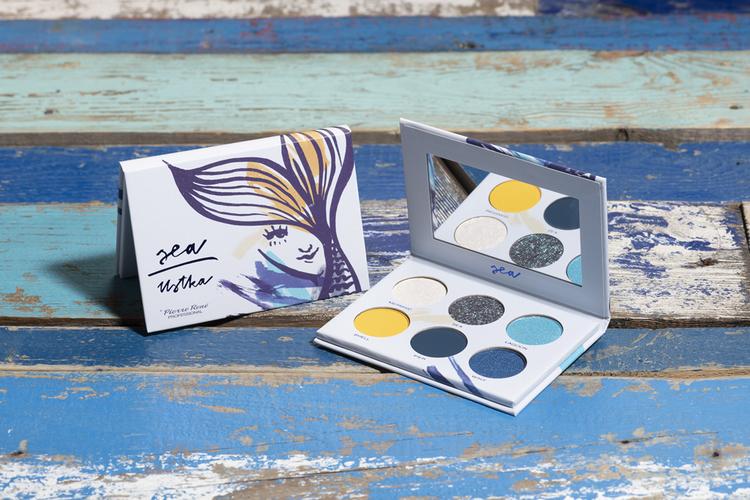 Pierre René Eyeshadow Palette Sea LIMITED EDITION