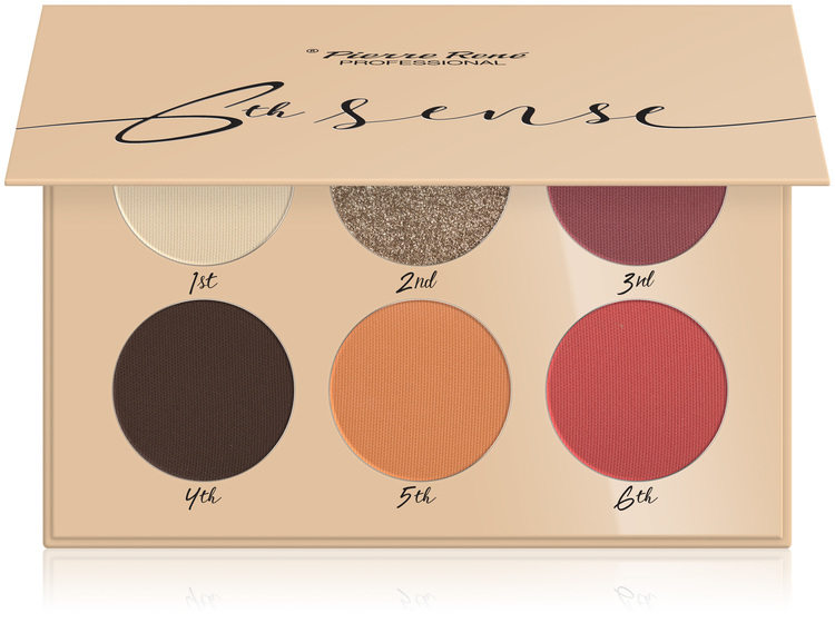 Pierre René Eyeshadow Palette 6th sense nr no. 06 Colorado Springs