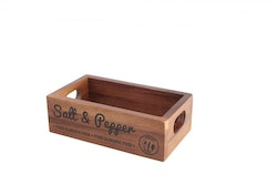 Salt & Peppar Box Acacia