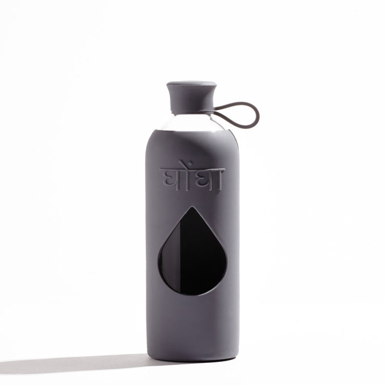 Ghongha Vattenflaska av glas Jet