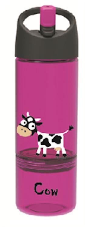 Barnvattenflaska 2-1 Cow