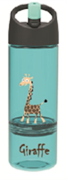 Barnvattenflaska 2-1 Giraffe