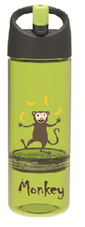 Barnvattenflaska 2-1 Monkey