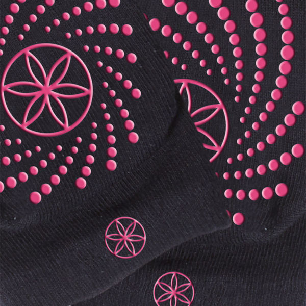 Grippy Yoga Socks pink  från Gaiam