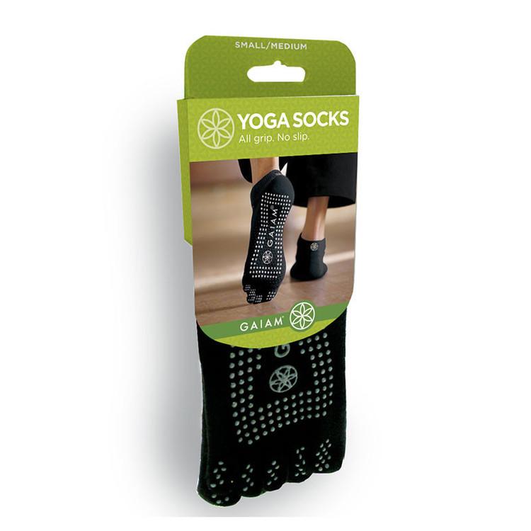 Grippy Yoga Socks grey från Gaiam