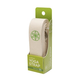 Yoga Strap Natural, 182 cm från Gaiam