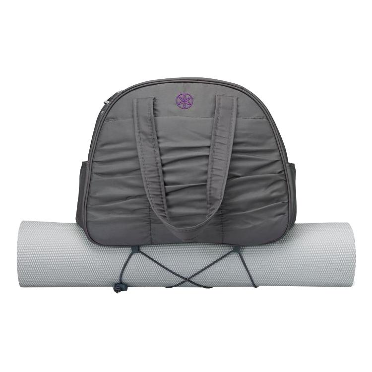 Yogamattväska Metro Gym Bag grå/lila från Gaiam
