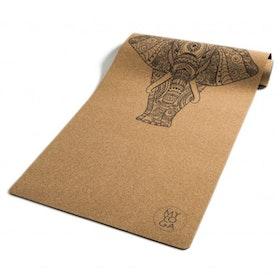 Yogamatta Ganesha kork 5 mm från WMY