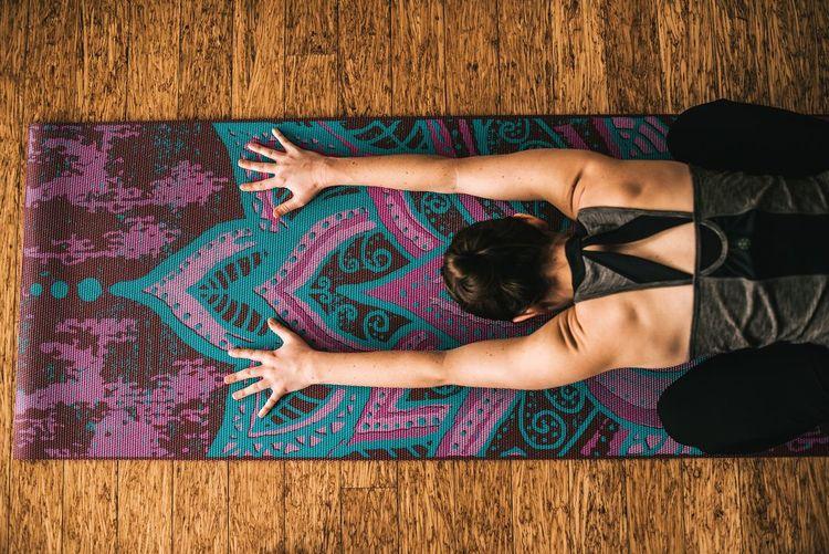 Yogamatta Be Free Vändbar 6 mm från Gaiam