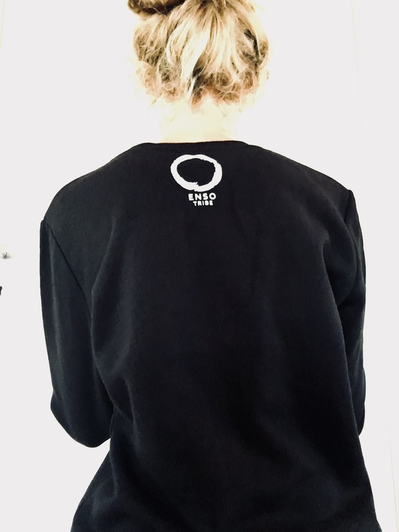 AUM - Sweater - Black från Enso Tribe