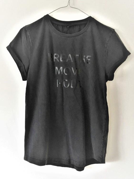 Breathe - T-shirt - Black från Enso Tribe