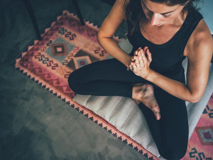 Yogamatta Kelim rosa 3,5 mm från WMY