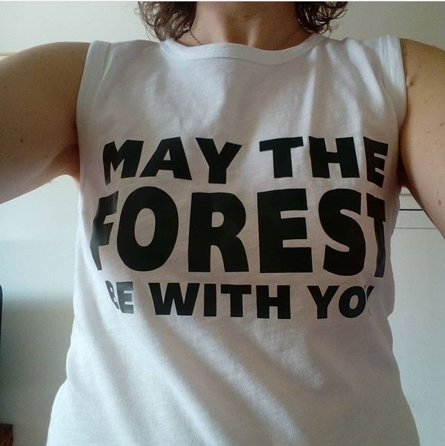 May the forest muscle tee Från Yogime