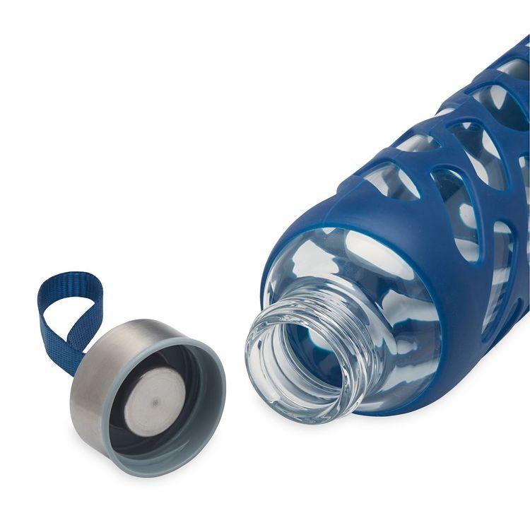 Vattenflaska av glas Denim från Gaiam
