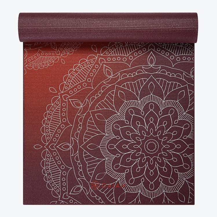 Yogamatta Metallic Sunset 6 mm från Gaiam