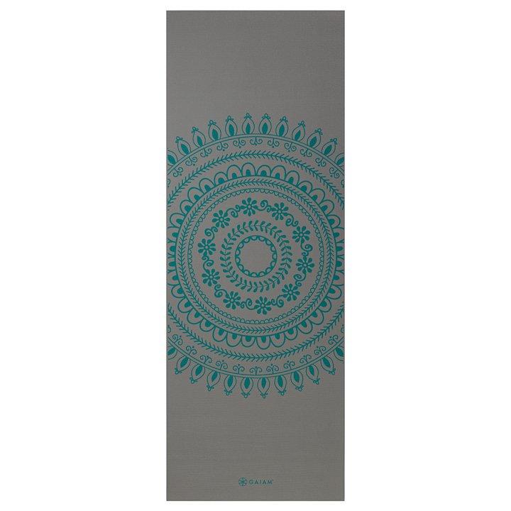 Yogamatta längre /bredare  Teal Marrakesh  från Gaiam