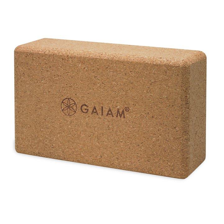 Yogablock av Kork från Gaiam