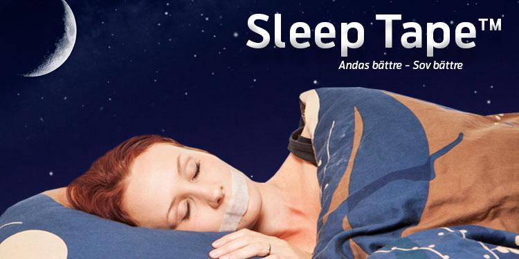 Sleep Tape 1 Meter ( 1 månads förbrukning)