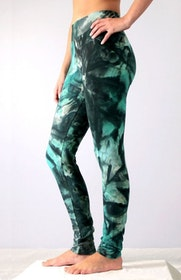 Thick Atlantic Smoke Tie Dye leggings från Mata Hari