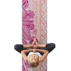 Yogamatta Bohemian Rose 4 mm från Gaiam