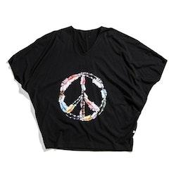 Peace Top Svart från WMY