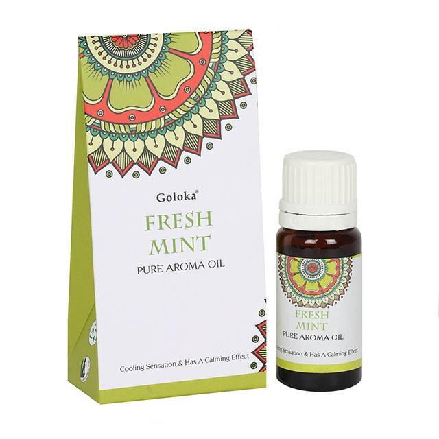 Doftolja Fresh Mint från Goloka