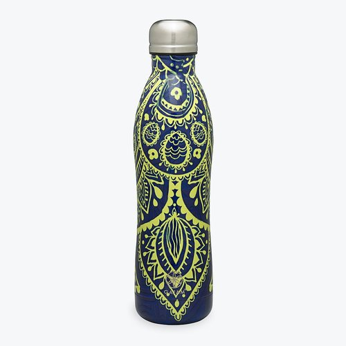 NYHET Yogamatta 4mm + vattenflaska Keep Your Cool från Gaiam