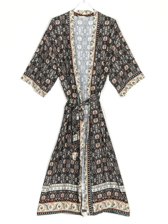 Kimono Spirit Svart
