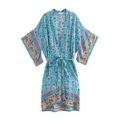 Kimono Lotus Blå