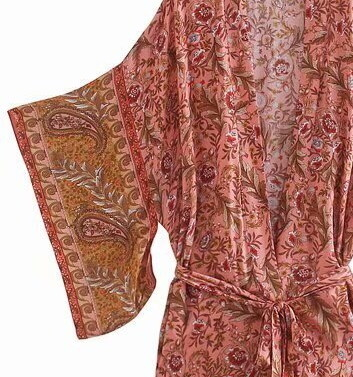 Kimono Lotus Rosa