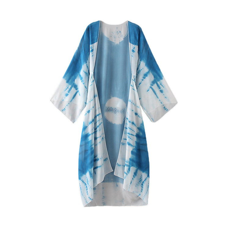Kimono Seaze Blå