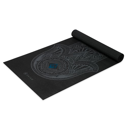 NYHET! Yogamatta Grey Hamsa 4 mm från Gaiam
