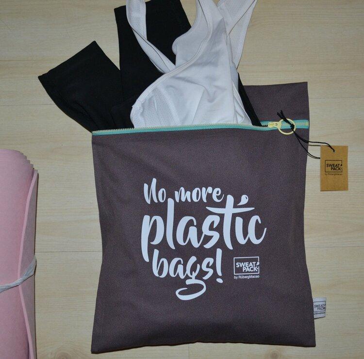 Fukttät Väska No more plastic bags Large från Sweat Pack