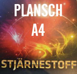 STJÄRENSTOFF PLANSCH A4