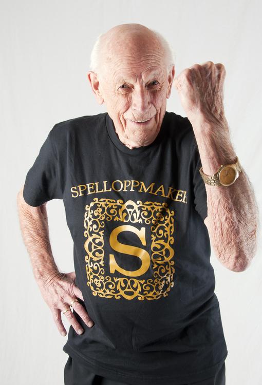 T-skjorte logo, sort