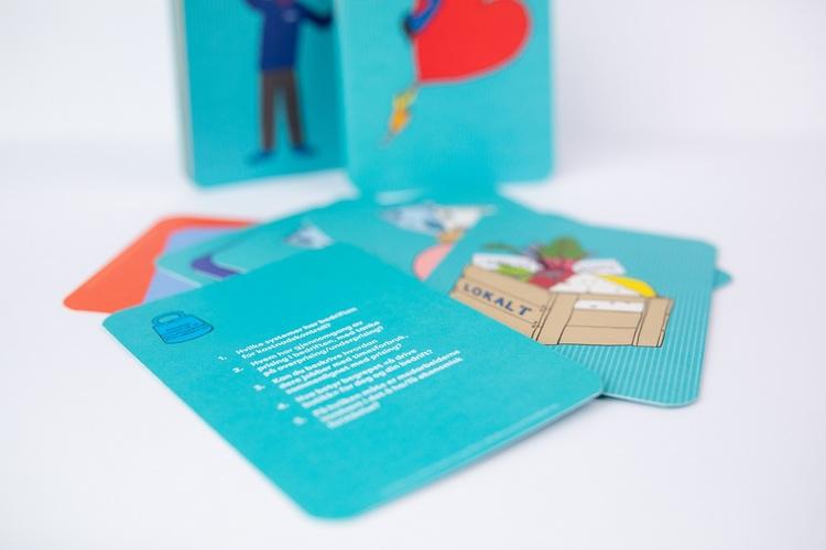 """""""Alle korta på bordet"""" - kortstokken som utvikler deg og bedriften din"""