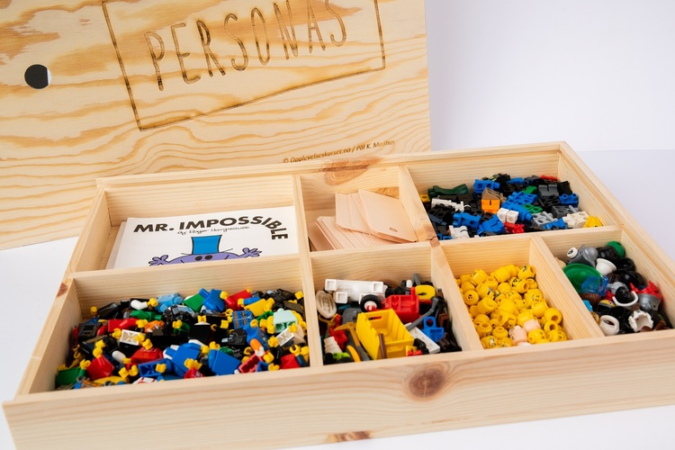 Personas-kasse. Lekent og treffsikkert utviklingsverktøy for din bedrift