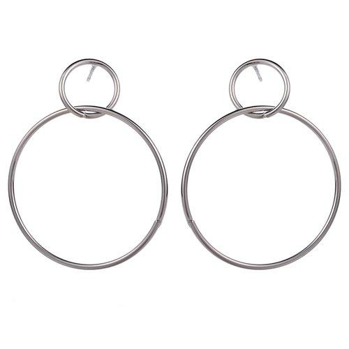 Örhängen dubbla ringar