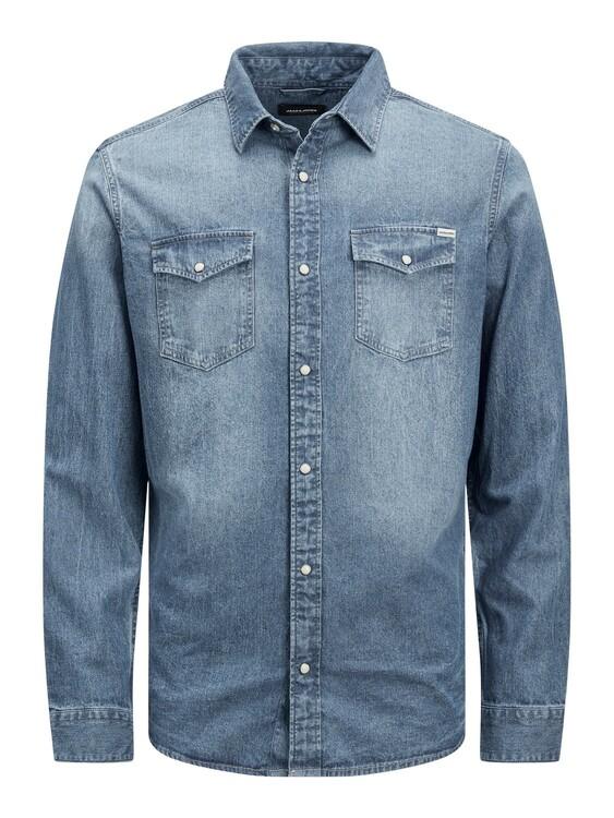 jeansskjorta herr