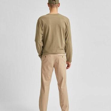 SLIM-MILES LINEN PANTS