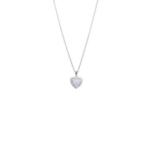 Halsband med hjärta gemini