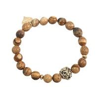 Armband bruna pärlor