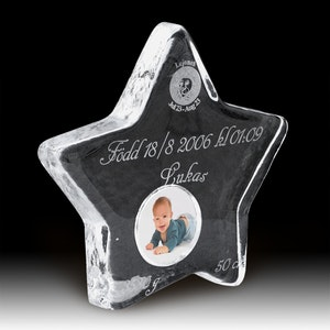 Dopstjärna i svenskt kristallglas