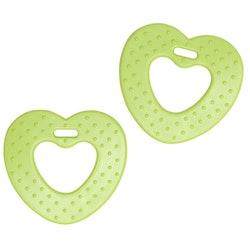 Bithjärtan 2 pack - Kiwi green
