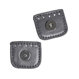 Magnetlås PU-läder - 4cm