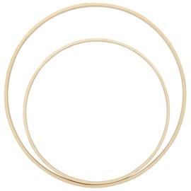 Bamboo ringar - 2 pack - D20/25cm