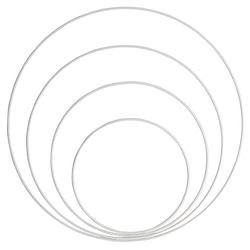 Metallringar - 4 pack