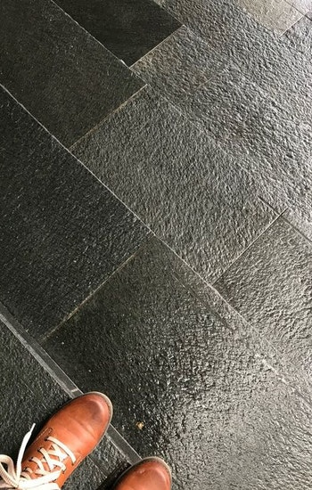 Offerdal golvskiffer 300 x fallande, 12 mm tjocklek