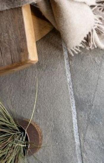 Oppdal oregelbunden markskiffer mellanstora (golvämne), 10-20 mm tjocklek
