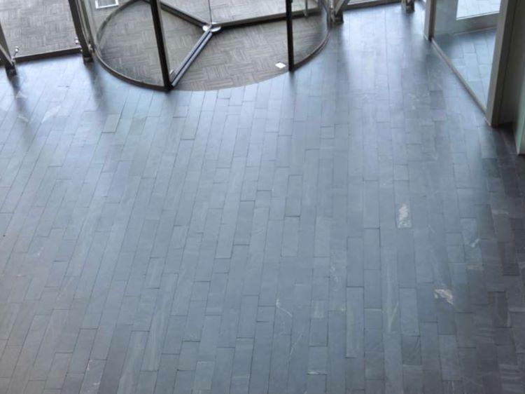 Castillo slipad golvskiffer, 300 mm x fallande längd, 10 mm tjocklek